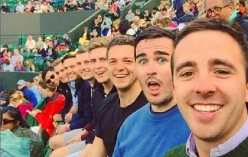 Da li je ovo najbolji selfie Wimbledona?