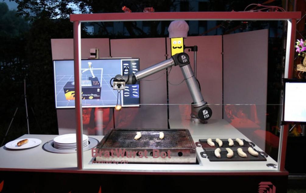 Njemački robot peče kobasice