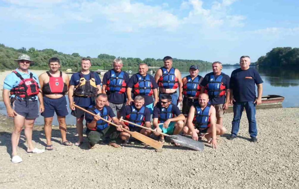 Odžak: Dobrovoljci na Savi prošli obuku spašavanja