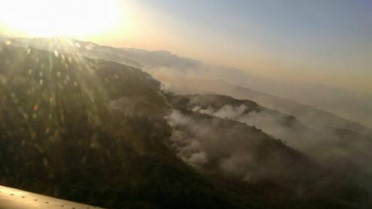 Kiša ugasila požare u LK