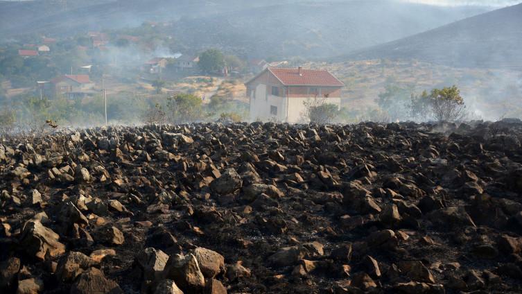 Zgarište u Hodbini: U noći sa srijede na četvrtak bilo kritično