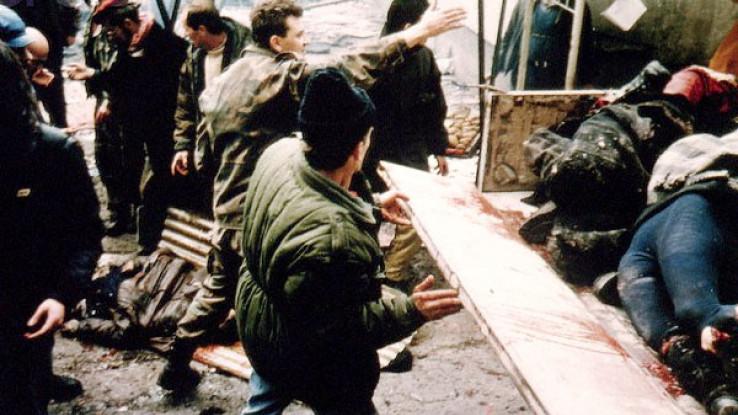 Prvi masakr na ovoj sarajevskoj pijaci dogodio se 5. februara 1994. godine