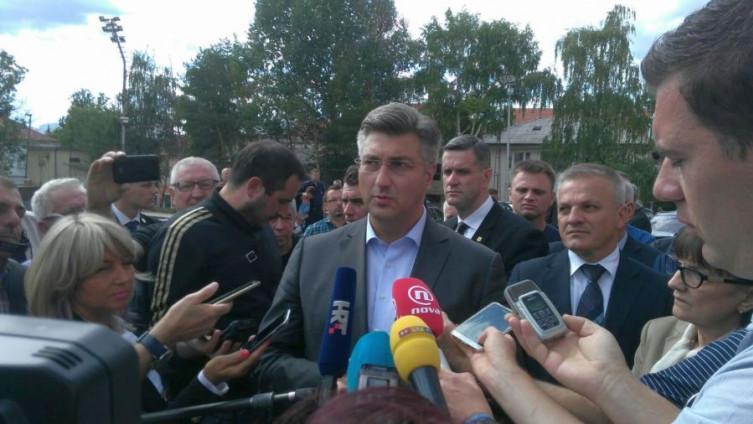 Andrej Plenković (Foto: A. Kamber)