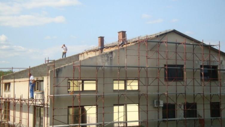 Sanacija Društvenog doma u Jezerskom