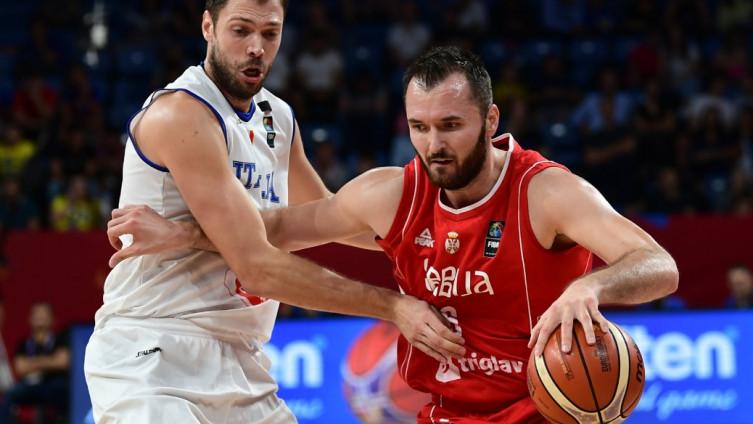 S utakmice Srbija - Italija Foto AFP