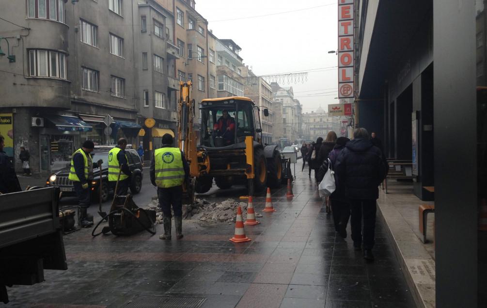 U ovim sarajevskim ulicama ni danas neće biti vode