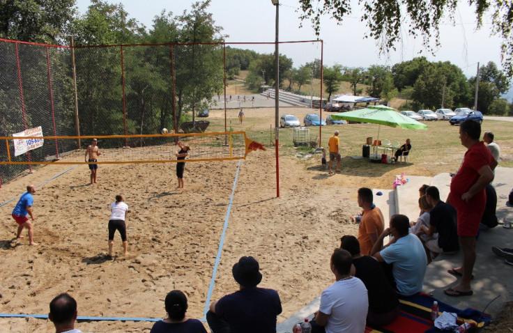 Nedavno održan turnir u odbojci na pijesku
