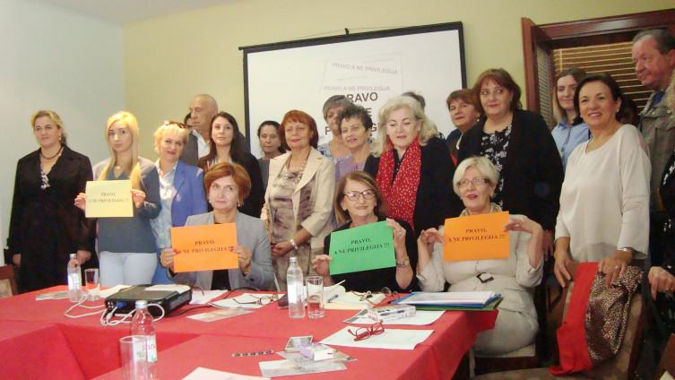 Kampanju vodili članovi nevladinog sektora