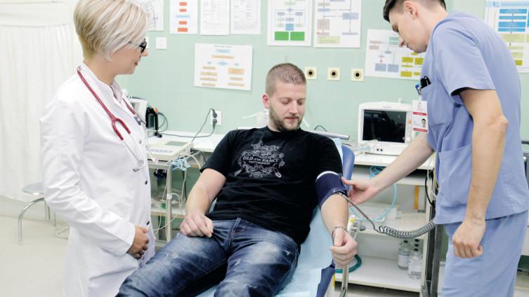 Zdravstveni radnici traže bolje plaće i uvjete rada (Foto: S.Saletović)
