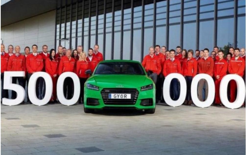 Audi proizveo 500.000. automobil u Mađarskoj