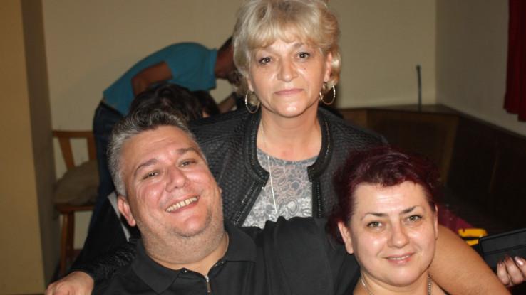 Edin i Adelina Hadžipašić sa Ksenijom