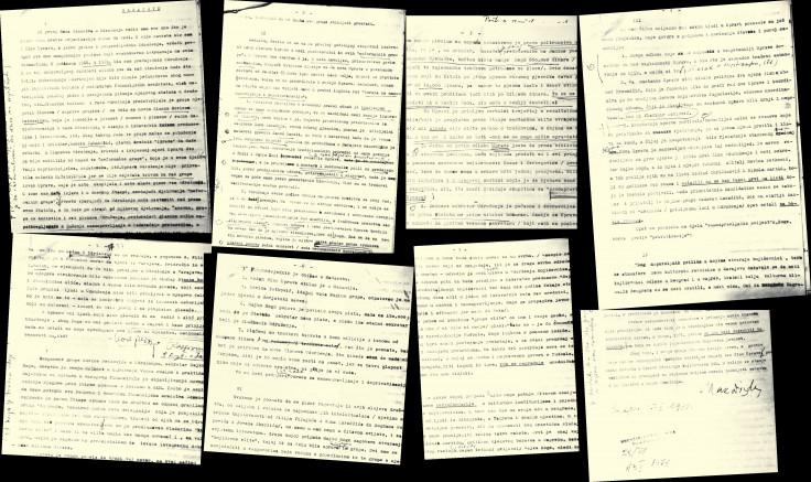 Faksimil pisma ostavke Maka Dizdara od 15. januara 1971. te kasnije dopune ostavke od 25. januara 1971. godine, gdje je sublimirao sve napade kojima je bio izložen od 1968., kada je postao predsjednik Udruženja književnika
