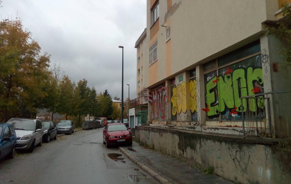 Grafitima išarani izlozi