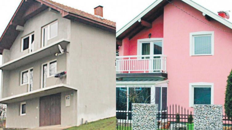 Kuća porodice Islamović: Nije imao ko otvoriti vrata (Foto: A. Bajrić) I porodična kuća Mešanovića prazna