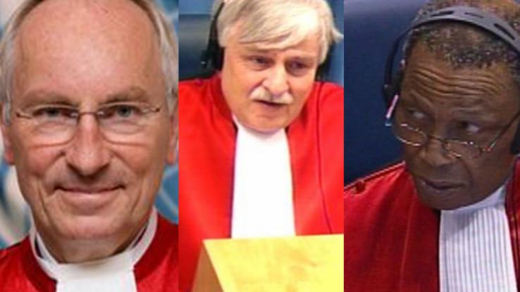 Sudije u vijeću koje Mladiću izriču presudu