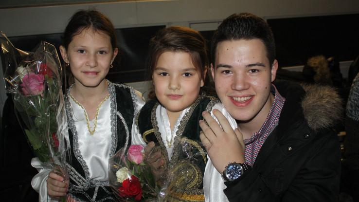 Cvijeće od najmlađih obožavateljki