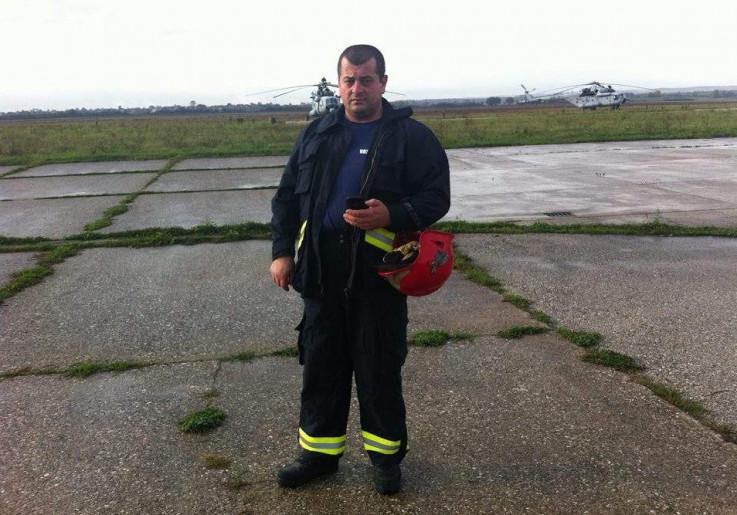 Vatrogasac Adem Demirović