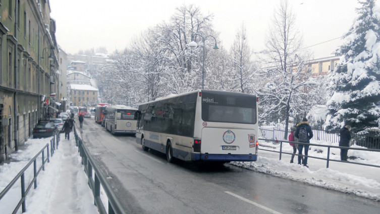 "Na liniji Sutjeska - Vogošća vozi više autobusa ""Centrotransa"" nego GRAS-a"