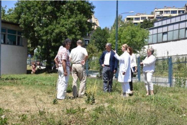Izetbegović i Ajnadžić: Obišli lokaciju na kojoj će se graditi kružni tok