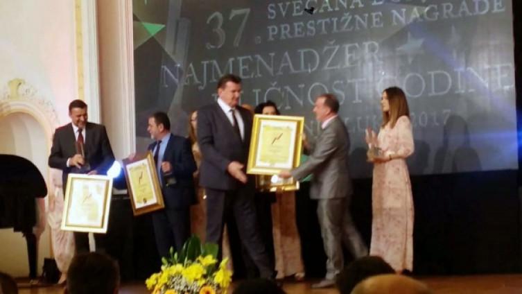 Ceremonija održana u Banskim dvorima u Banjoj Luci(Foto: Radio Bobovac Vareš)