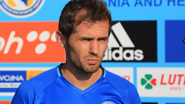 Lulić: Odigrao 57 utakmica za reprezentaciju BiH