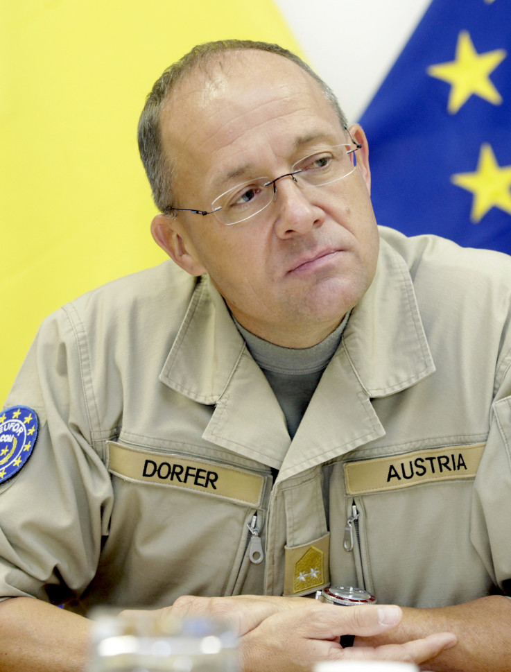 Brigadier general Martin Dorfer: EUFOR is not spying on anyone