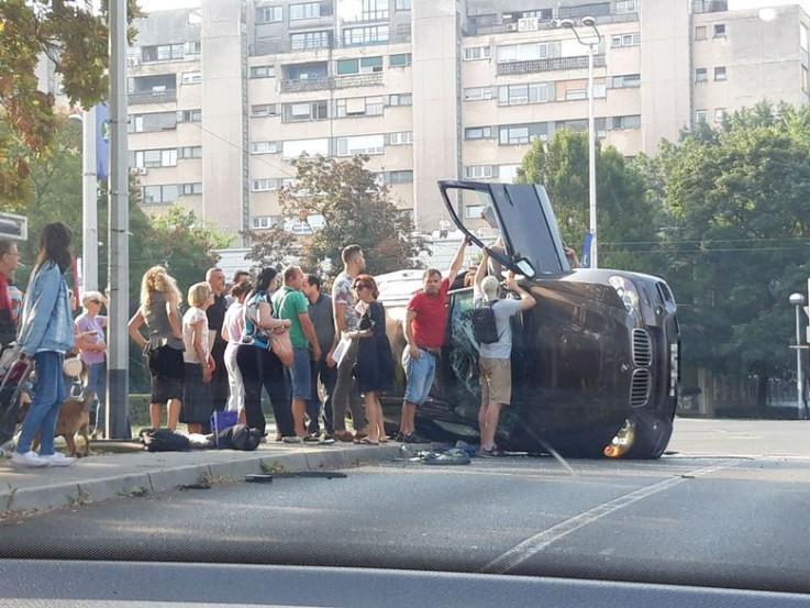 U nesreći učestvovala dva vozila