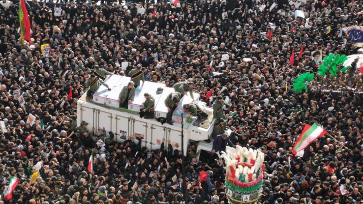 Stotine hiljada ljudi žali za Sulejmanijem