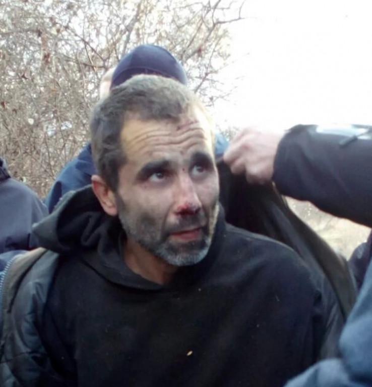 Ninoslav Jovanović nakon hapšenja