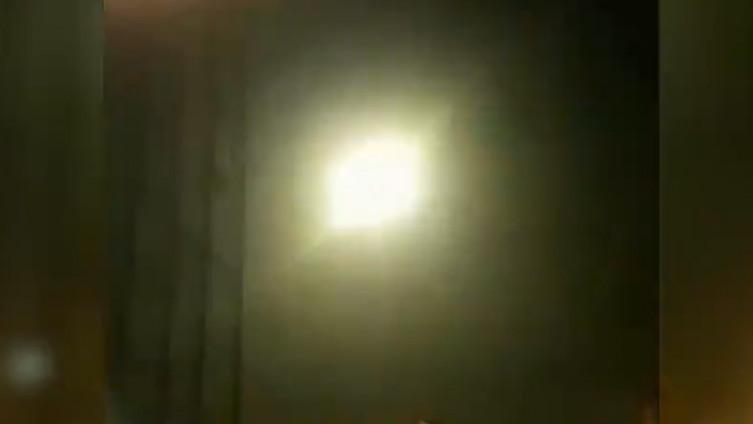 Trenutak udara rakete u avion