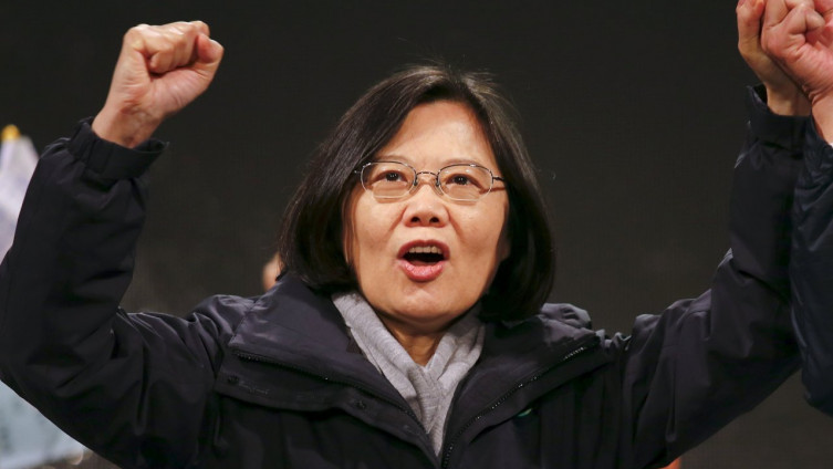 Cai Ing-ven: Prva žena na čelu Tajvana