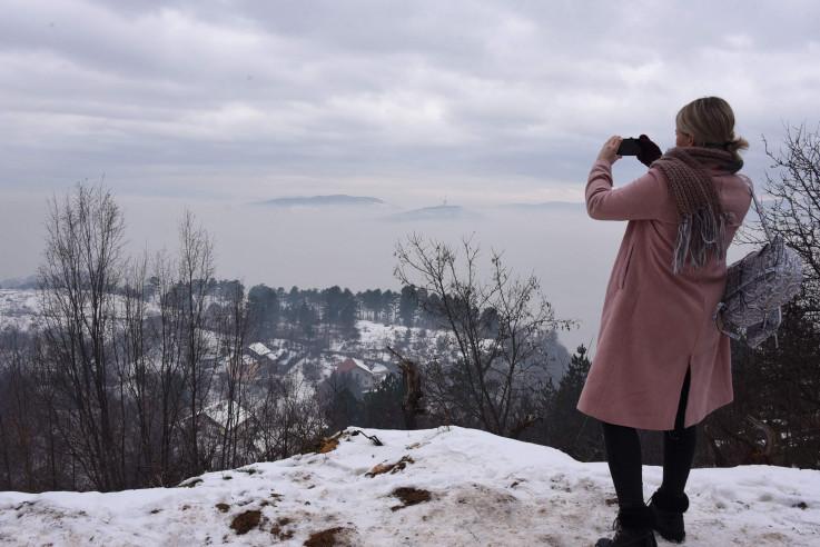 Glavni grad nije se vidio od smoga