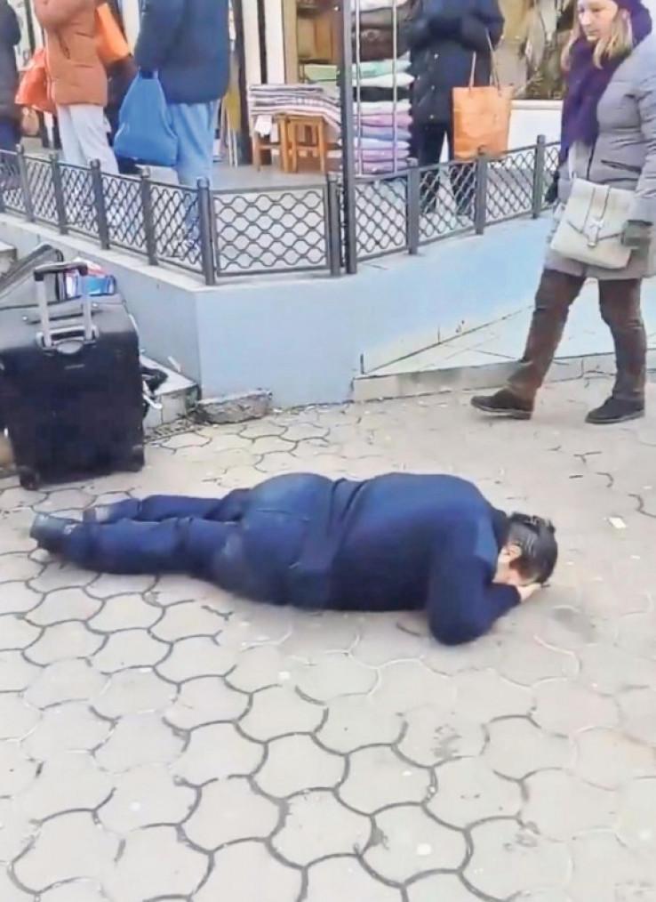 Policajka pala kao pokošena