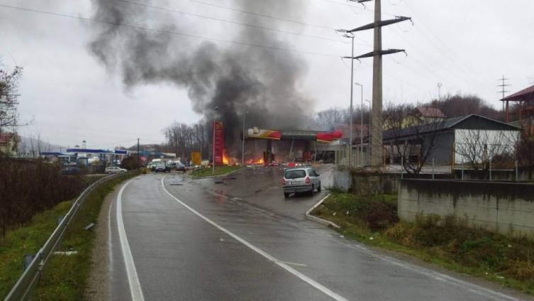 Eksplozija na pumpi u Zvorniku