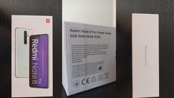Pakovanje Redmi Note 8 Pro
