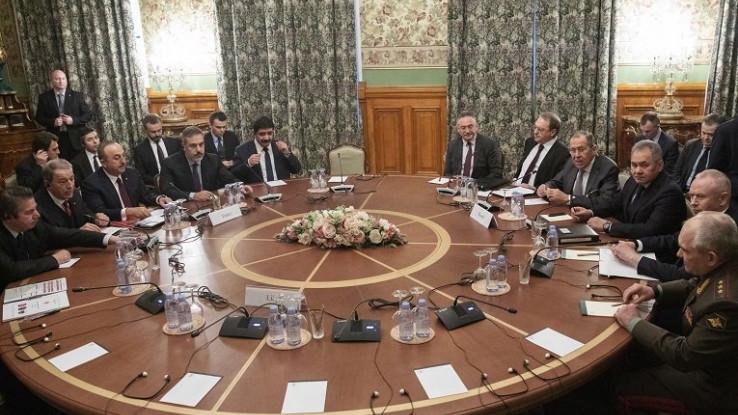 Sa sastanka u Moskvi