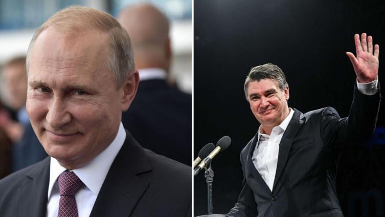 Vladimir Putin, Zoran Milanović