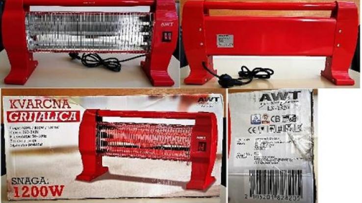 Grijalica AWT tip LX-2820 - Avaz, Dnevni avaz, avaz.ba