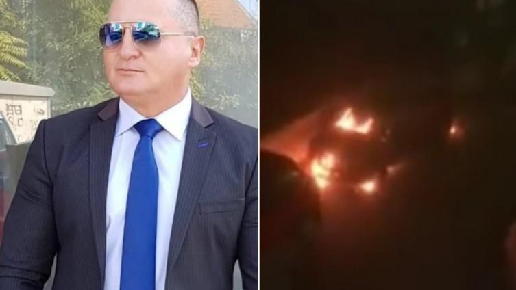 Zapaljen automobil Andrije Kulića