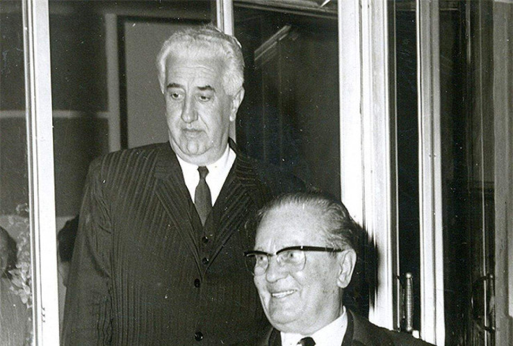 Bijedić i Tito