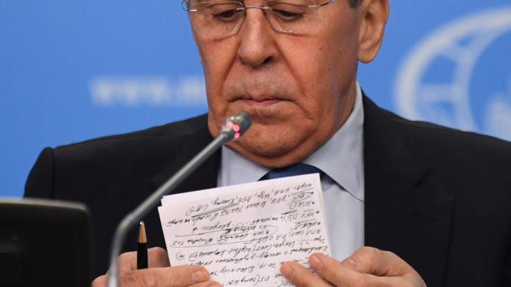 Lavrov incident nazvao ljudskom greškom