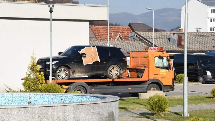 Range Rover kasnije pronađen u Rogatici