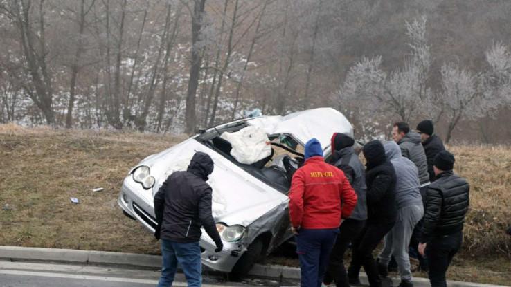 Nesreća se dogodila 500 metara od Tinje