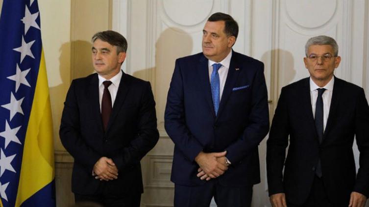 Predsjedništvo BiH upoznato s odlukom Komiteta NATO-a