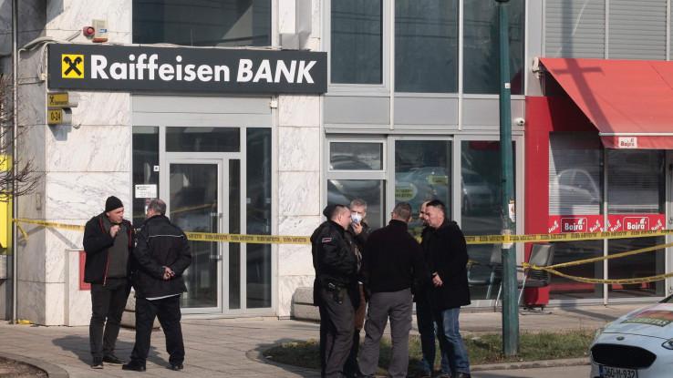 Uviđaj nakon upada u banku