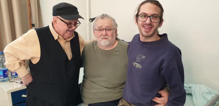 Sidran i Lalić posjetili su Troku u bolnici