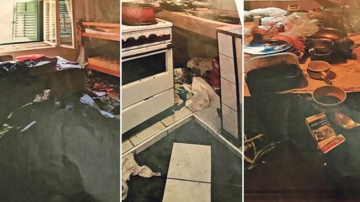 Fotografije stana u kojem je živjela porodica Zavadlav