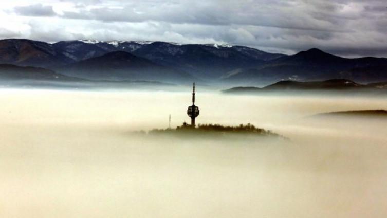 Jedna od starijih fotografija grada pod maglom