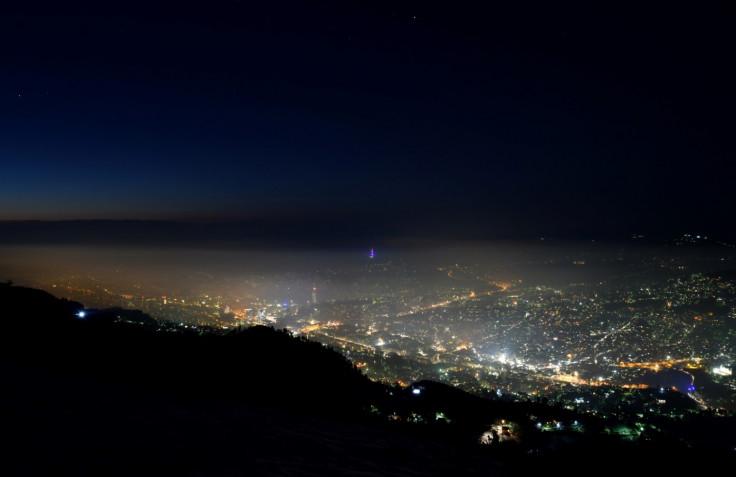 Vidljiv smog i magla u Sarajevu