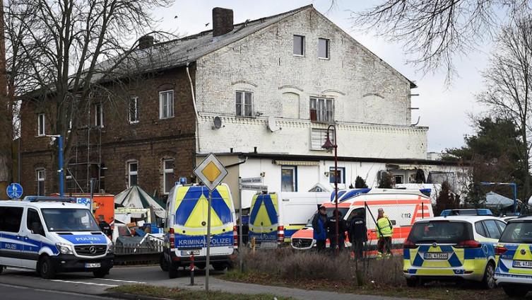 Policija na mjestu događaja